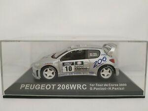 1-43-PEUGEOT-206-WRC-PANIZZI-2000-CORSE-RALLY-IXO-RALLYE-ESCALA-DIECAST-SCALE