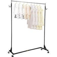 Vevor Z Truck Clothing Rack Rolling Garment Z Rack Lockable Casters Heavy Duty