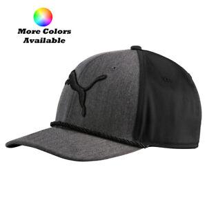 New-Puma-Golf-2017-Gotime-Rope-Adjustable-Cap-Hat-Multiple-Colors-OSFM