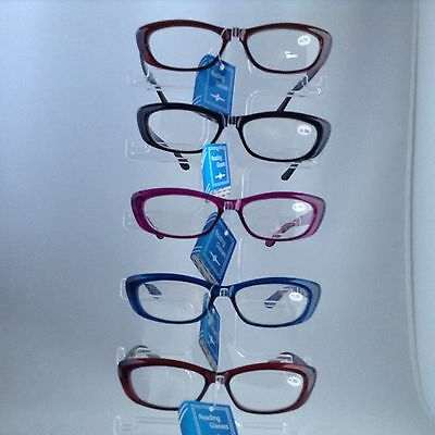 NEW Unisex Rectangular Frame Shape Fashion Readers Reading Glasses  + FREE GIFT!