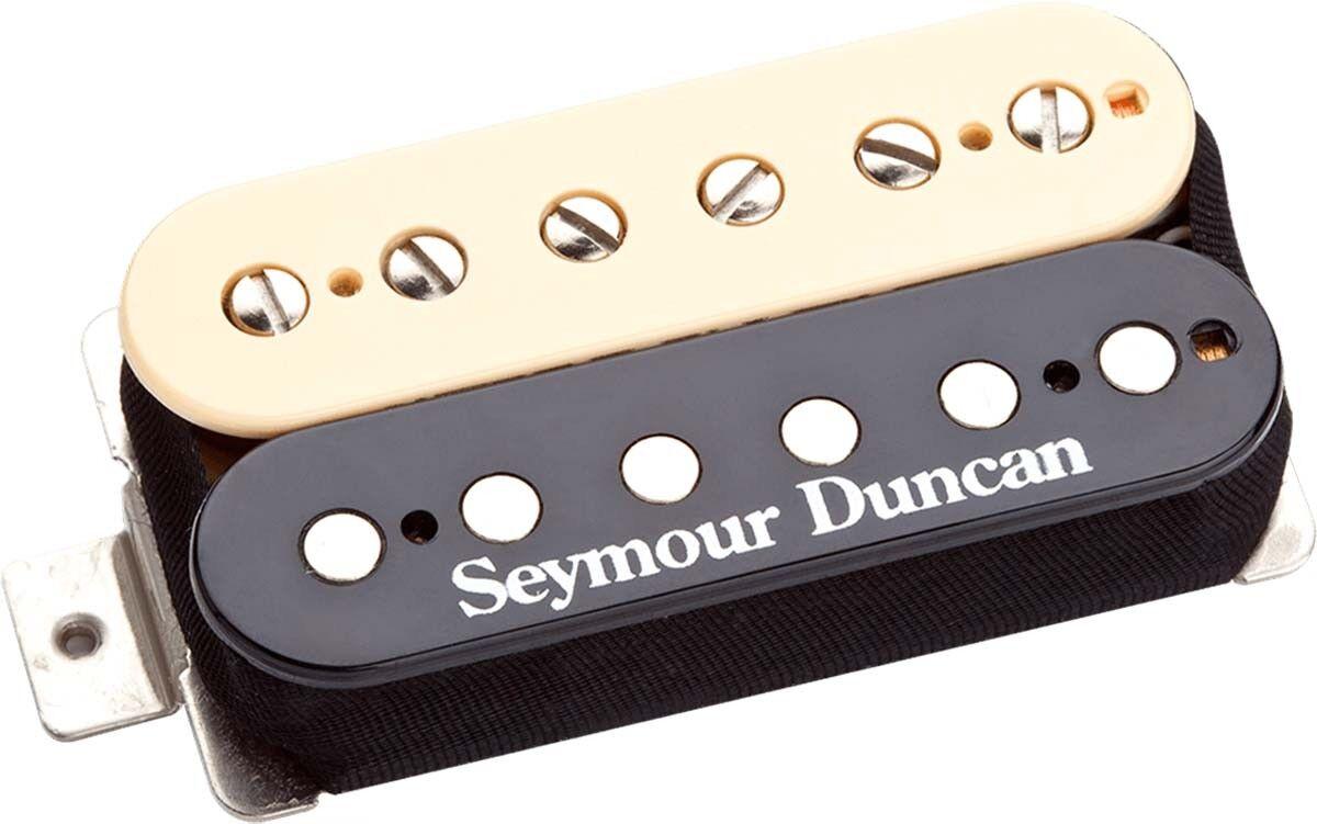 Seymour Seymour Seymour Duncan Sh-2n Jazz Modelo Alnico V Humbucker pastillas de cuello, 4 Cond, Zebra 30eaac