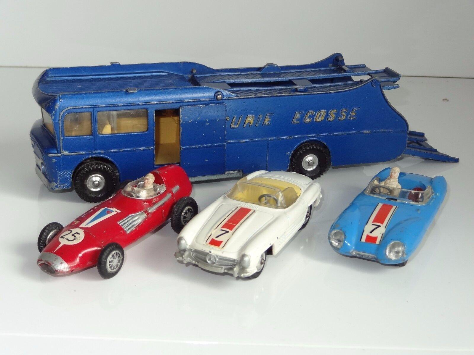 (M) corgi  ECURIE ECOSSE RACING CAR TRANSPORTER  GIFTSET - GS 16
