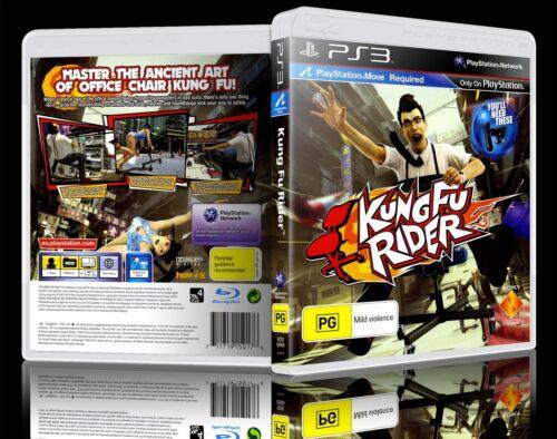 1 of 1 - (PS3) Kung Fu Rider (PG) Guaranteed, 100% Tested, Australian