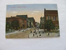 AK  Schlesien Breslau, Schweidnitzerstr, gel 1916
