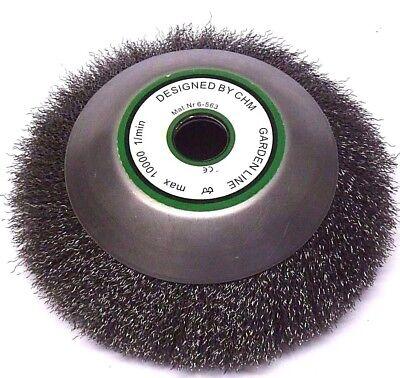 200 x 20 mm Unkrautbürste Wildkrautbürste Fugenbürste Motorsense Drahtbürste