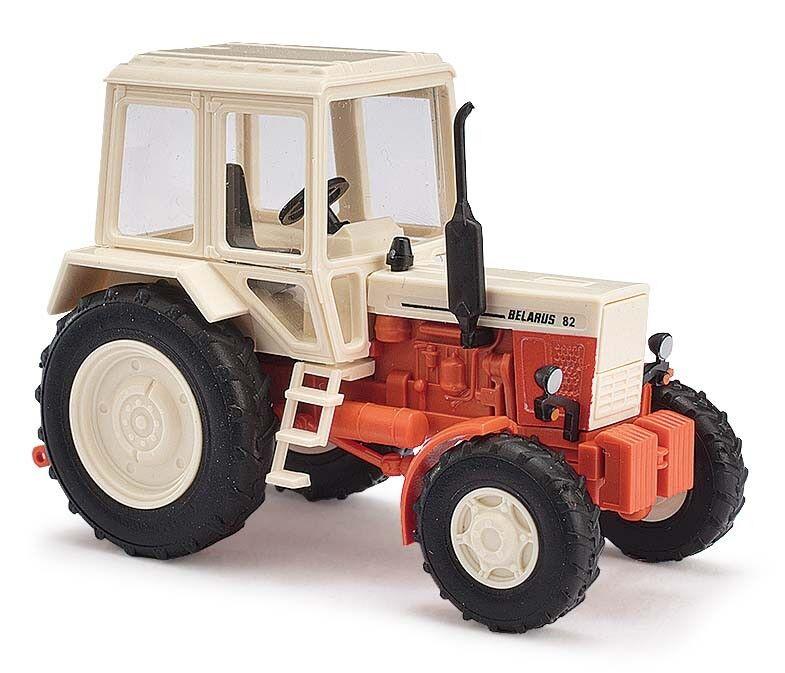 Busch 51307 Belarus Mtz 82, Beige   red, Exportmodell, Exportmodell, Exportmodell, H0 Modello 1 87 ccf03d