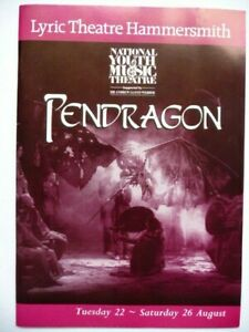 PENDRAGON Lyric Theatre Programme NYMT 1995 - Sheridan Smith (age 13)