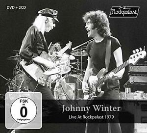 Live At Rockpalast 1979 - 2CD + dvd ,Johnny Winter,Audio CD,Neuf,Free & Fast Del