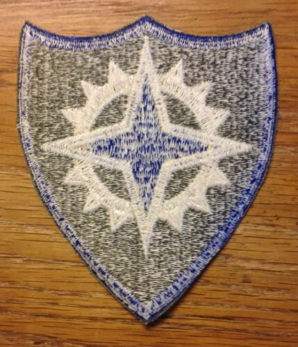 U.S NEW OLD STOCK ONE PATCH 16th CORPS PATCH CUT EDGE ORIGINAL WWII
