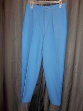 Vtg, 80s LEVI'S BEND OVER BLUE DRESS SLACKS PANTS Women's Size 14 SHORT