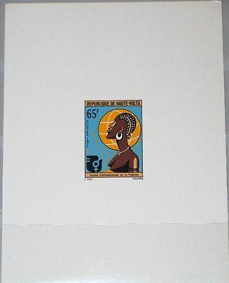 Afrika Jahr Der Frau Woman´s Year Mnh Chinesische Aromen Besitzen Briefmarken Kraftvoll Upper Volta Obervolta 1975 600 379 Deluxe Intl