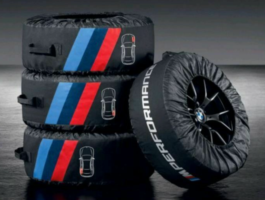 M Performance Tyre Bags with Case 17-22 inch