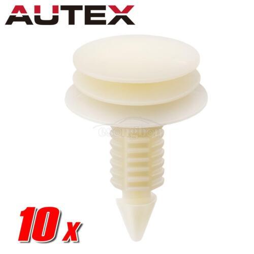 AUTEX 10 Pcs Door Trim Panel Retainer Fastener Revit Clips For GMC Savana