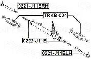 Track Rod End Fits Nissan Qashqai MK2 1.6 dCi Genuine Comline Front Right Tie
