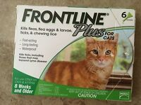 Frontline Plus For Cats - 6 Month - Genuine Epa Approved - Free Shipping