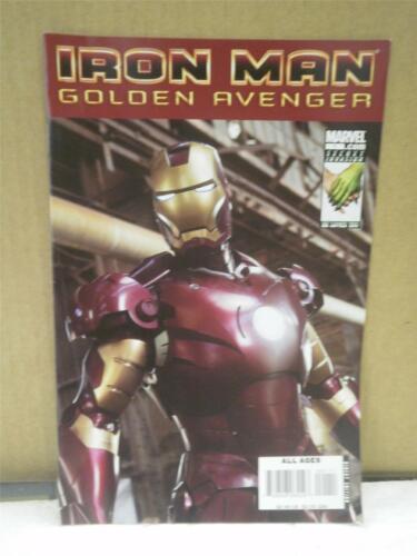 NOVEMBER 2008 IRON MAN VINTAGE COMIC NEW L111 GOLDEN AVENGER #1