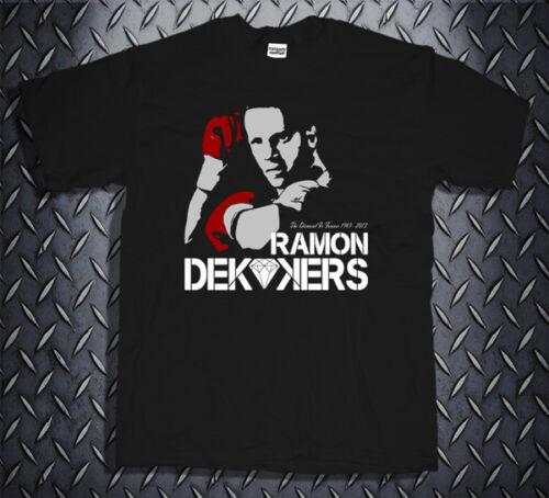 Rip Ramon Dekkers The Diamond Muaythai Thai boxing Kickboxing T-shirt Tee