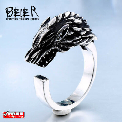 Game Thrones Ring House Stark Of Winterfell Ring  Free shipping