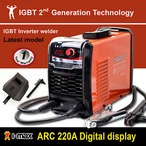 ARC-220Amp-Stick-Welder-DC-Inverter-MMA-Welding-Machine-IGBT-Portable-10A-Plug