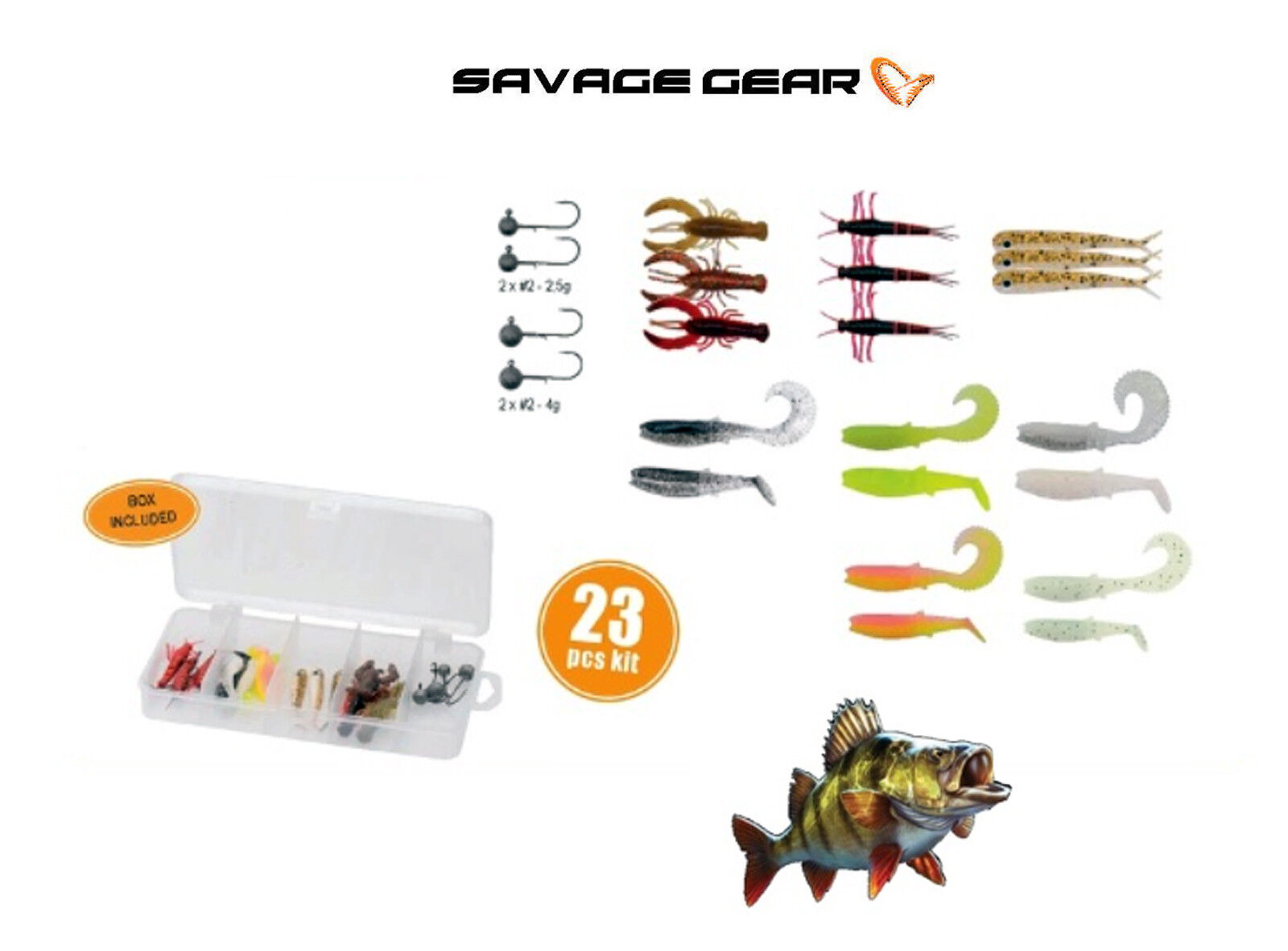 Savage Gear Finezze Dropshot Kit