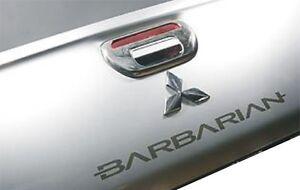 Mitsubishi Barbarian L200 Warrior  Rear  sticker