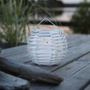 led solar laterne mit kerze flackernd solarlampe. Black Bedroom Furniture Sets. Home Design Ideas