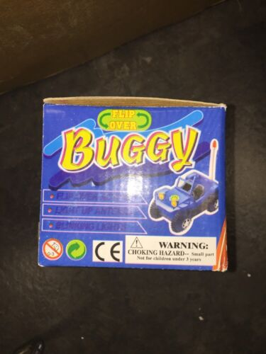 Flip Over Buggy Battery Operated With Light Up Antenna And Blinking Lights