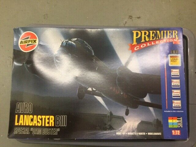 AVRO LANCASTER BIII SPECIAL  DAM BUSTER  PREMIER COLLECTION AIRFIX 1 72 9800 NEW