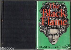 Limited-first-edition-of-The-Black-Flame-by-Stanley-G-Weinbaum-Fantasy-Press