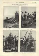 1914 All Metal Submarine Diving Dress Pump Chamber Photographs