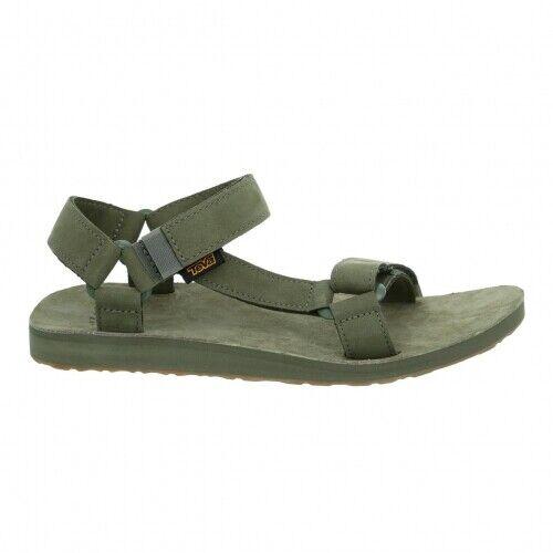 Teva Original Universal Leather M`S Herren Sandale Herren grün Outdoor Sandalen