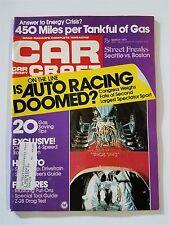 Car Craft Mar 1974 - Chevy Camaro Z-28 - Seattle vs Boston Street Racers - GTO