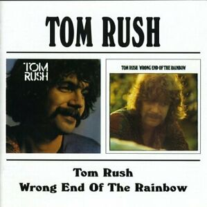 Tom Rush - Tom Rush / Wrong End Of The Rainbow (1997)  CD  NEW  SPEEDYPOST