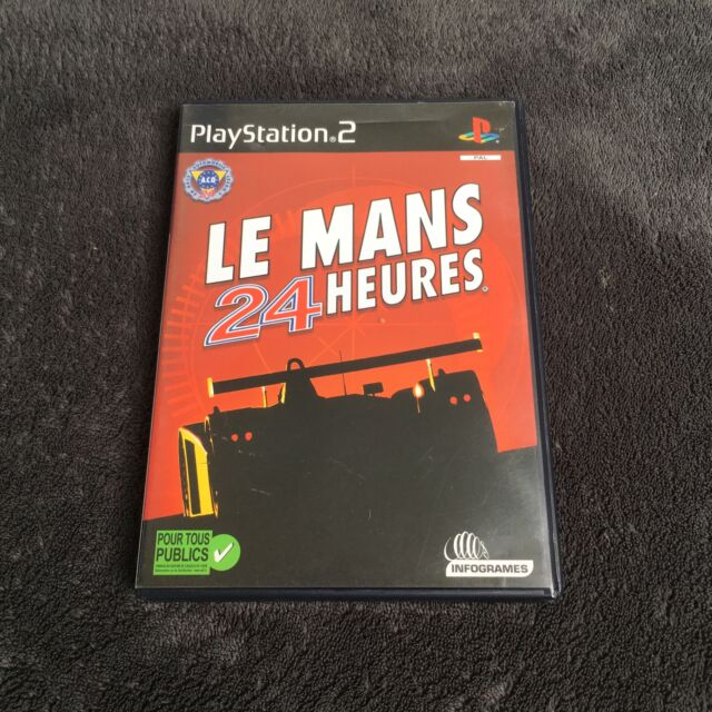PS2 Le Mans 24 Heures FRA CD état Neuf Playstation 2 #2