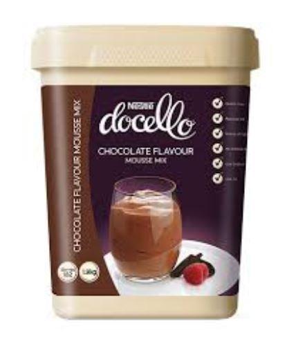 NESTLE DOCELLO CHOCOLATE FLAVOUR MOUSSE MIX 1.9KG