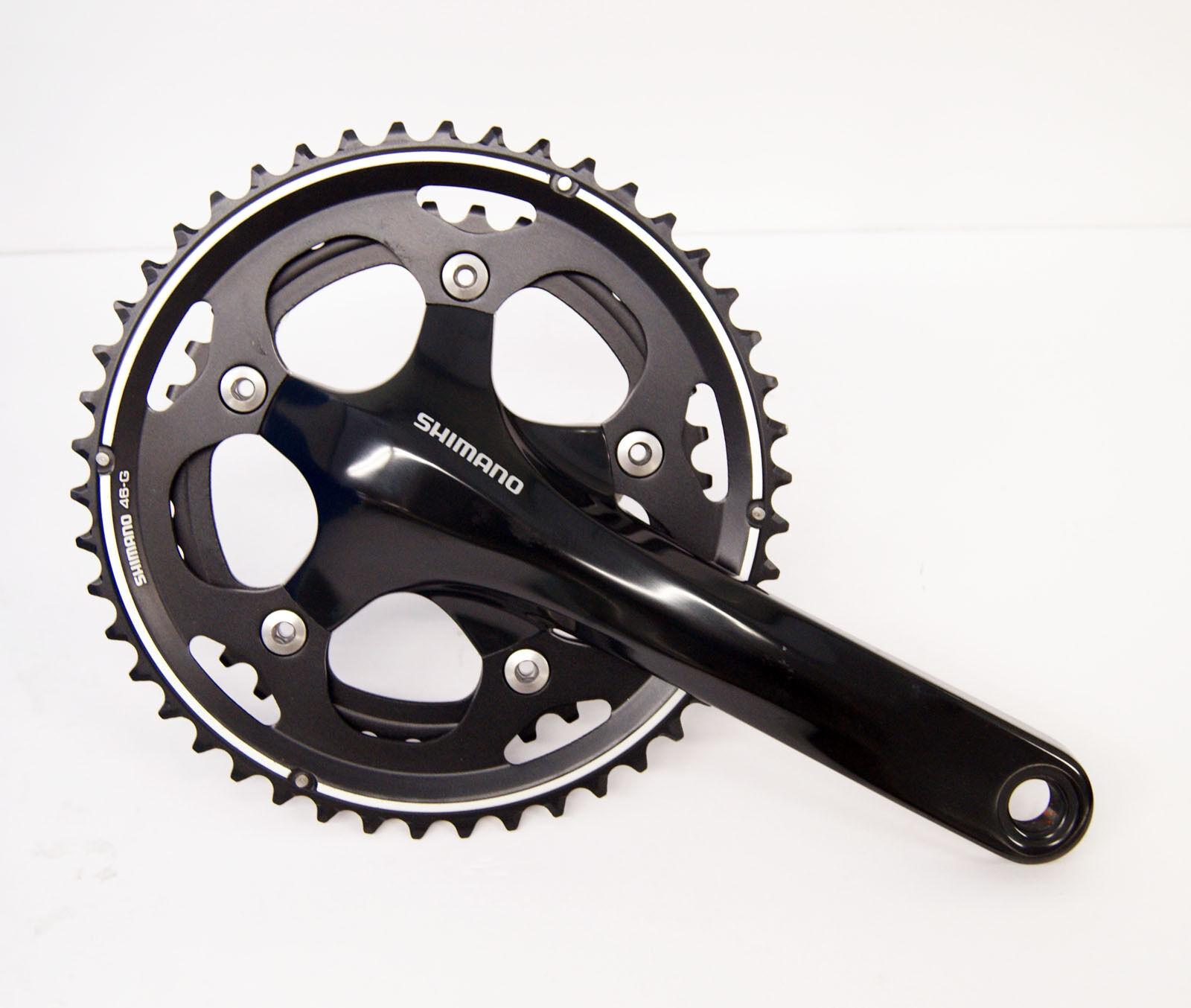 Shimano ciclocross FC-CX50 46-36T Negro 175 mm bielas efccx 50EX66L