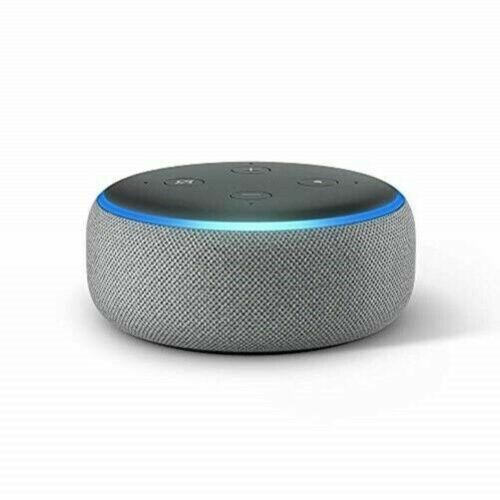 Tissu prune Echo Dot Enceinte connect/ée avec Alexa Contr/ôle intelligent du chauffage Thermostat Intelligent Kit de D/émarrage V3+ 3/ème g/én/ération