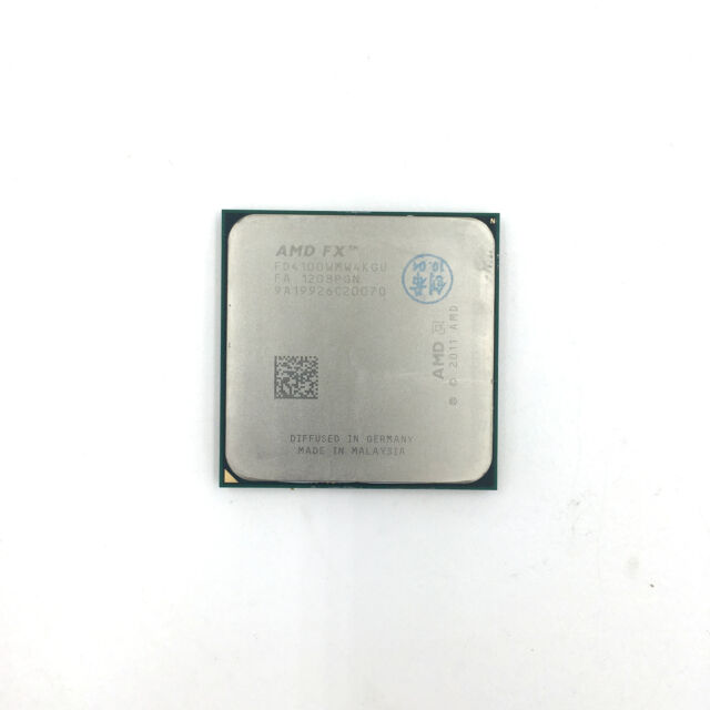 AMD FX Series FX-4100 Quad Core CPU 3.6GHz FD4100WMW4KGU Processor Socket AM3+