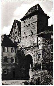 Ansichtskarte Bad Wimpfen am Neckar - Blick auf das Hohenstaufentor - s/w