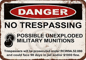 Danger-Unexploded-Military-Munitions-vintage-look-reproduction-metal-sign-8-x-12
