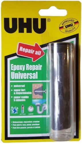 UHU Epoxy Repair Pâte à modeler pour réparations permanentes 56G neuf