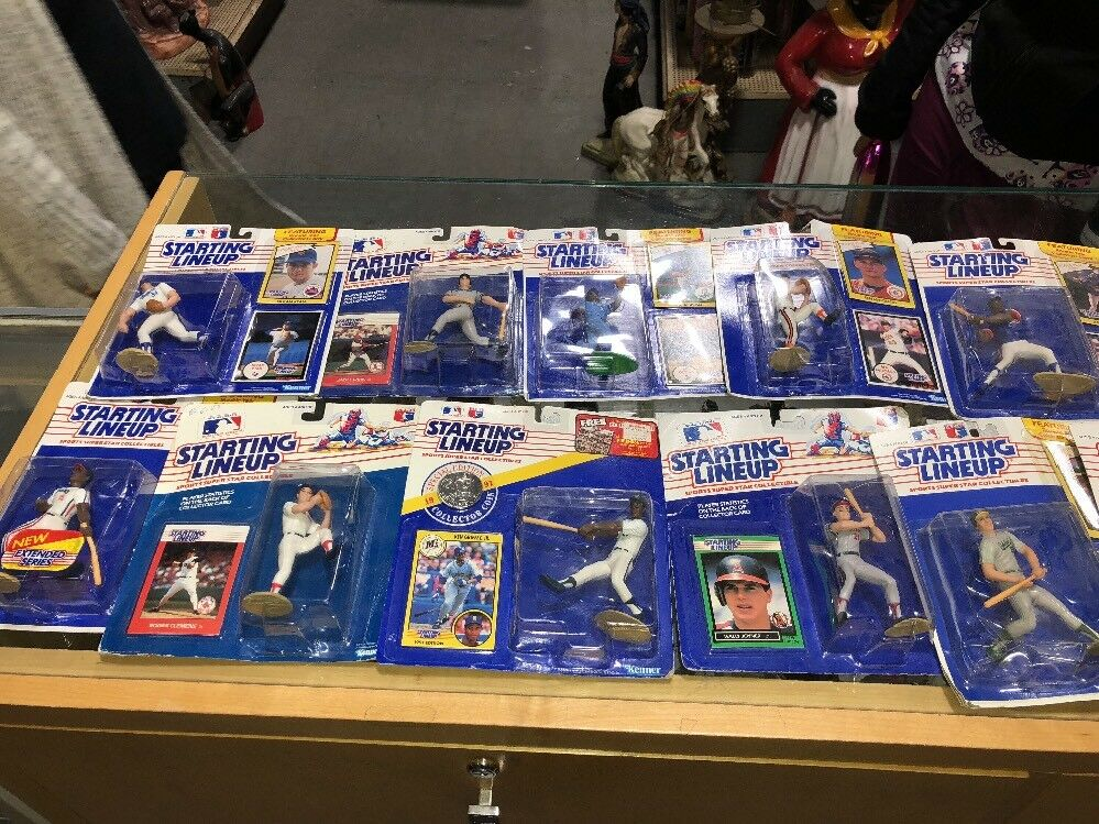 Baseball ROOKIE STARTING LINEUP LOT Of 13