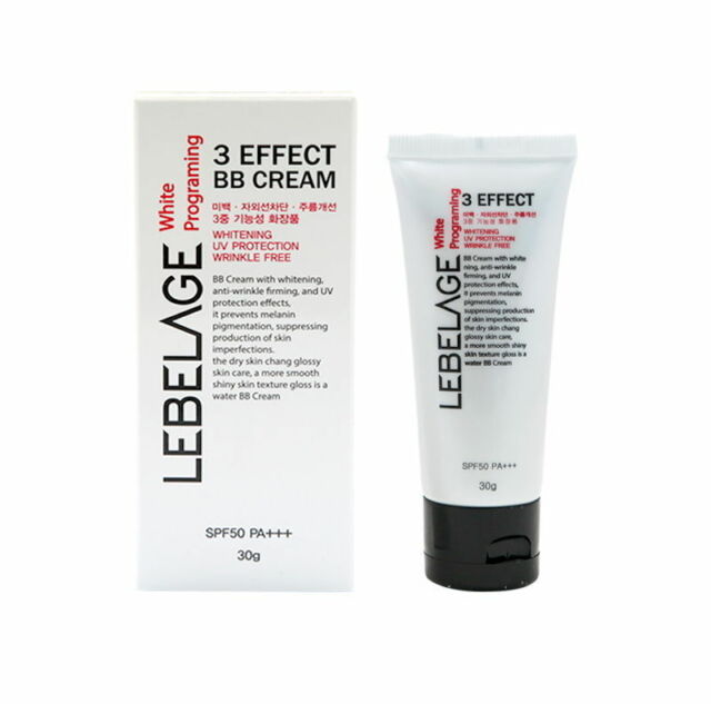 Lebelage White programing 3 EFFECT BB CREAM SPF50 PA+++ 30ml 1 oz Korean Beauty