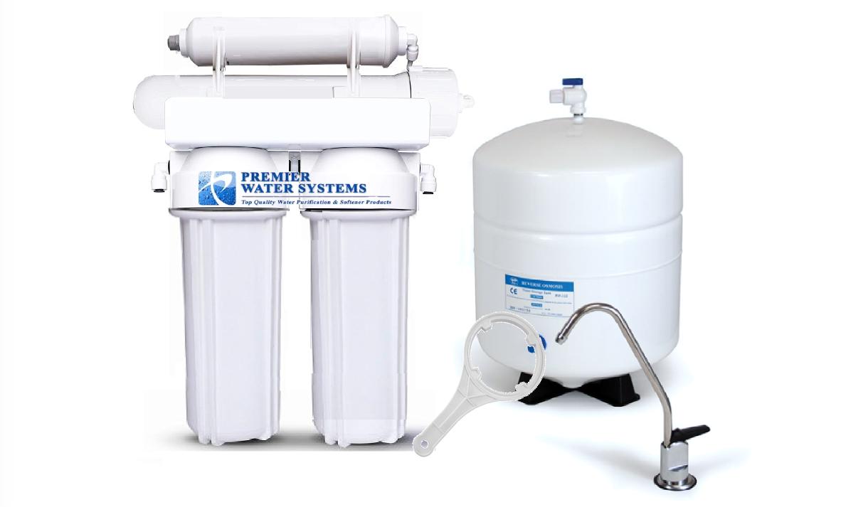 Osmose Inverse Eau Potable Système de filtration 4 étape 150 Gotham Police Department-Home Osmose Inverse