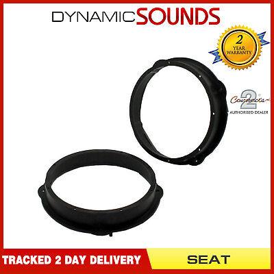 Rear Door Car Speaker Adaptors Ring 20cm 200mm For SEAT Leon CT25VW02 Front