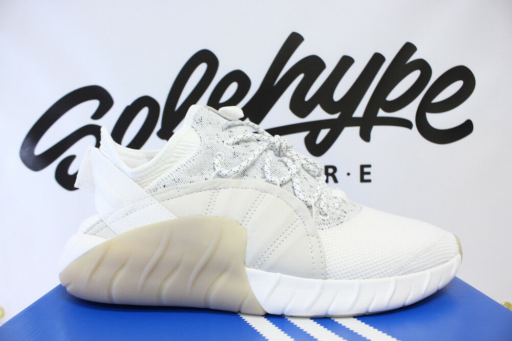 ADIDAS ORIGINALS TUBULAR RISE WHITE BEIGE OFF WHITE BY3555 SZ 11.5