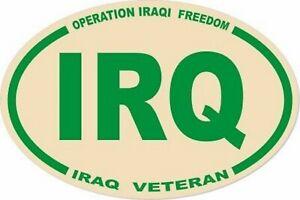 3-X-4-5-UNITED-STATES-MILITARY-IRQ-IRAQ-VET-OVAL-EURO-STICKER