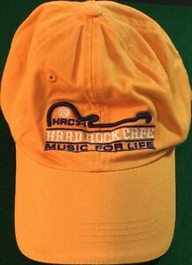 Hard-Rock-Cafe-SINGAPORE-Baseball-HAT-CAP-Yellow-034-MUSIC-FOR-LIFE-034-HRC-71-New