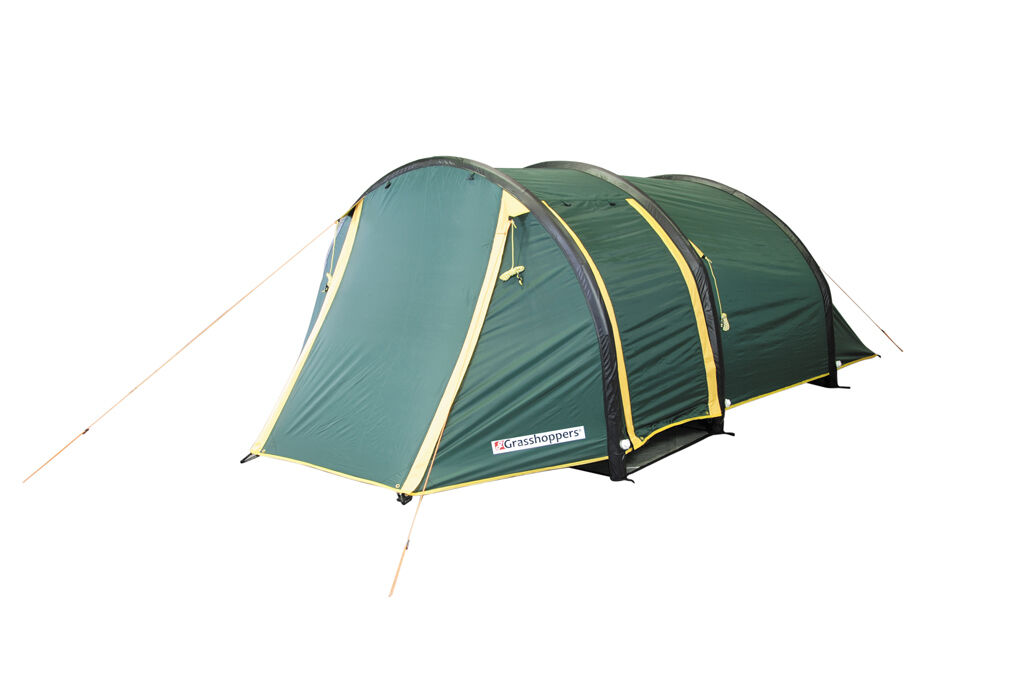 TENT GRASSHOPPERS AIR 200 - 2 PERSONS TAPED SEAMS -INFLATABLE FRAME