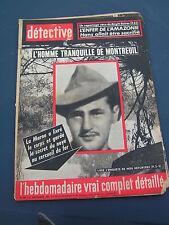 Détective 1963 900 LAMORLAYE VARCES BEAUCHAMP SOREL MOUSSEL ESNEUX QUAREGNON VAR